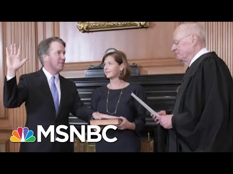 What's Ahead For Brett Kavanaugh's First Day On The Supreme Court?   Hallie Jackson   MSNBC