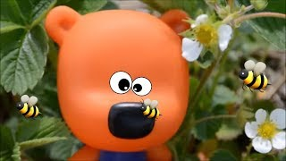 Ми-ми-мишки  в  огороде, Новая  серия.Мультики  из  игрушек