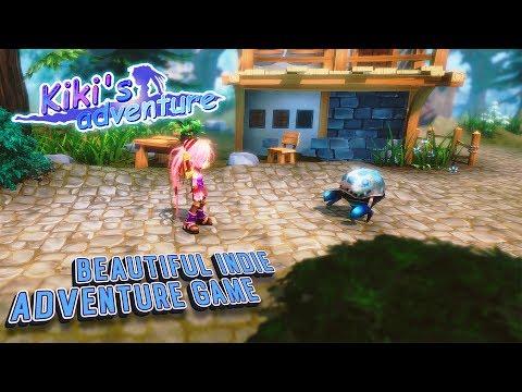 Kiki's Adventure Android/iOS Gameplay. Beautiful Indie Adventure Game