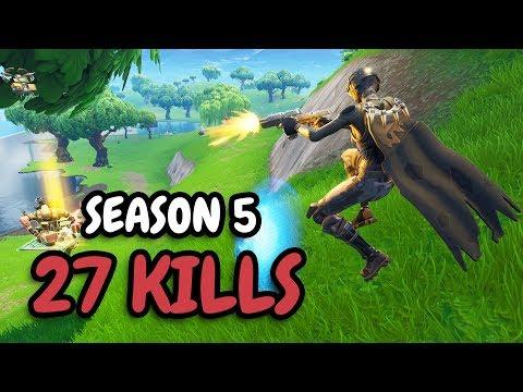 27 KILLS   DUAL PISTOLS OP!?   Solo vs Squad