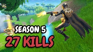 27 KILLS | DUAL PISTOLS OP!? | Solo vs Squad thumbnail