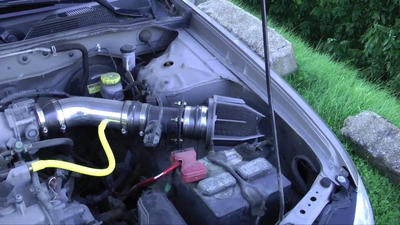 Nissan Sentra 2004 1.8L WeaponR Dragon Short ram intake ...