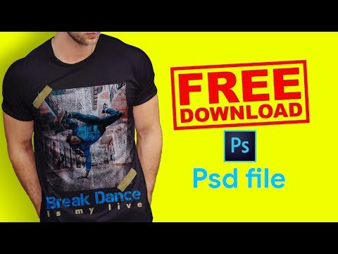 Free Download Shirt Design Psd File For Photoshop 01