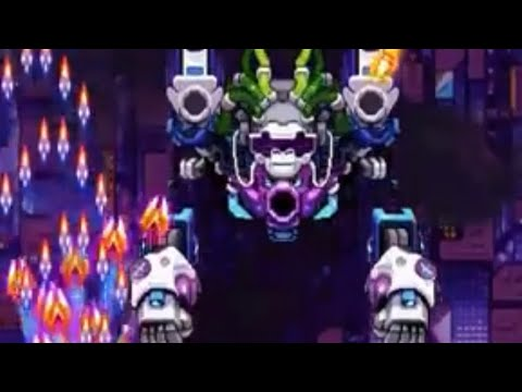 Falcon Squad Boss 140 (helper video) Galaxy Shooter |