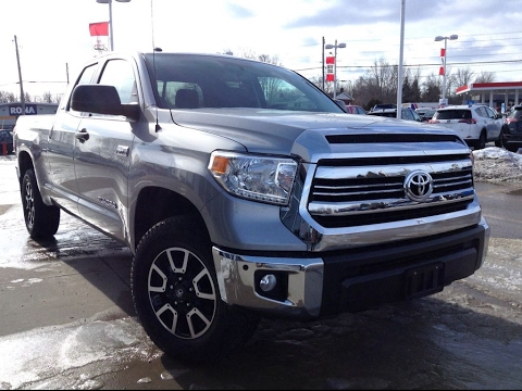 New 2017 Toyota Tundra Dbl Cab Trd Offroad Review Silver 1000 Islands Brockville