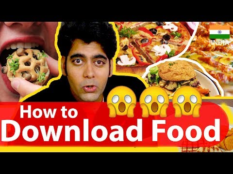 How to download Food ? | Yes it is possible | Explained in Detail