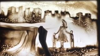 Песочная анимация для мамы от сына