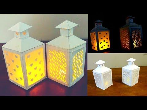 Paper Lantern / Ramadan DIY /free Lantern Template