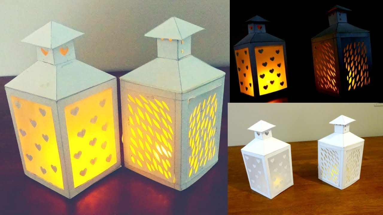 image regarding Lantern Template Printable called Paper Lantern / Ramadan Do it yourself /absolutely free Lantern Template