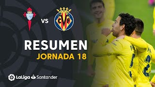 Resumen de RC Celta vs Villarreal CF (0-4)