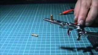 Soldering HXT bullet connectors