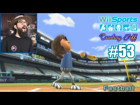 FIRST TIME I'VE DONE THIS AS A PRO! | Wii Sports | Baseball #53