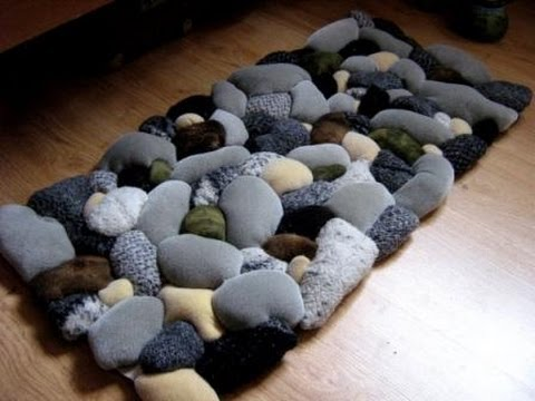 Wa Ou Tutorial 1 How To Make A Beach Rock Rug Youtube