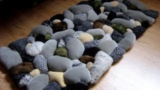 Repeat youtube video Wa'Ou- tutorial#1 how to make a Beach Rock Rug