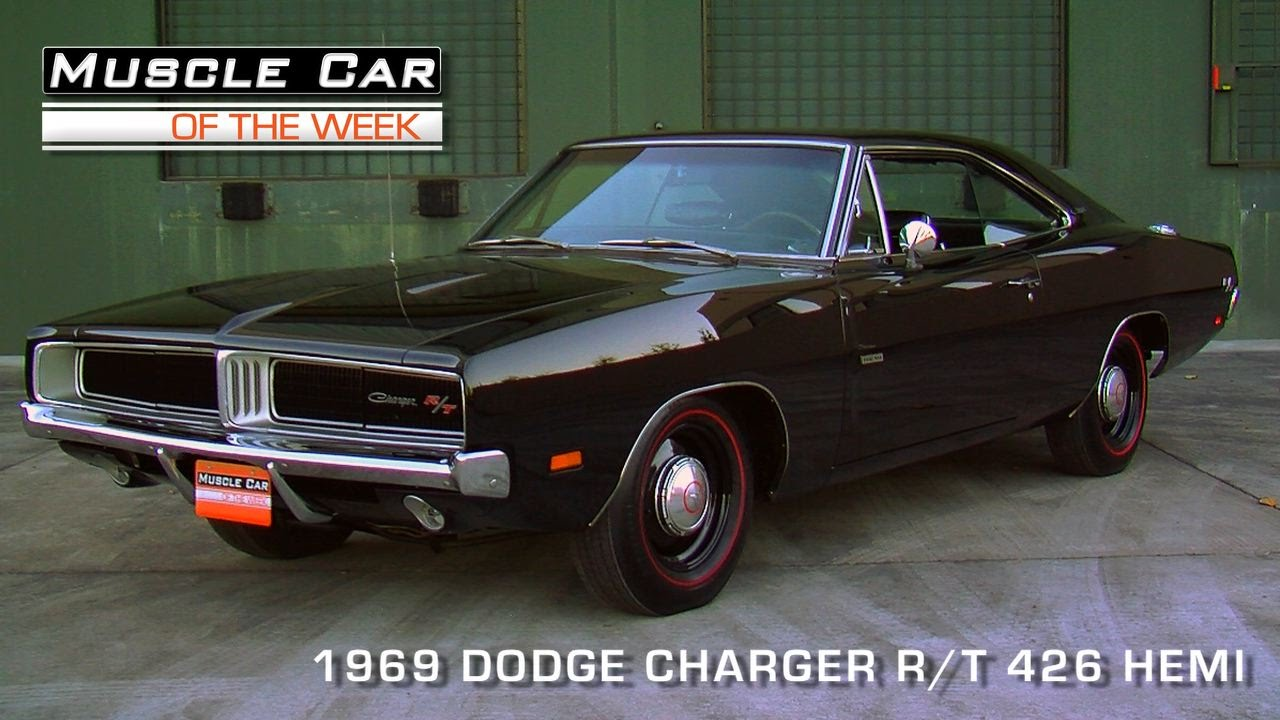 Muscle Car Of The Week Episode 90 1969 Dodge Charger R T 426 Hemi