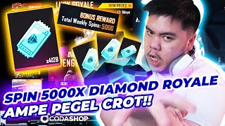 ABISIN 4000 DIAMOND ROYALE VOUCHER SPIN 5000X AMPE OLENG!