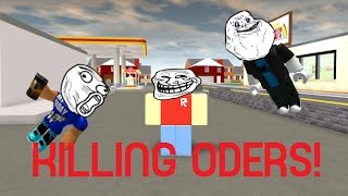 Roblox Exploiting #8 - Roleplay Island (Killing ODers)