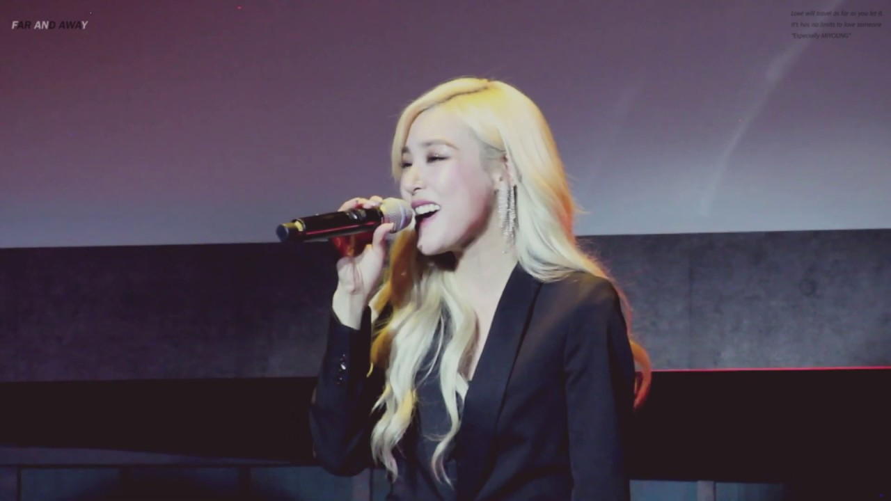 190326 - RUNAWAY @ TIFFANY YOUNG ACOUSTIC LIVE (FAN SIGN EVENT) IN SEOUL - YouTube