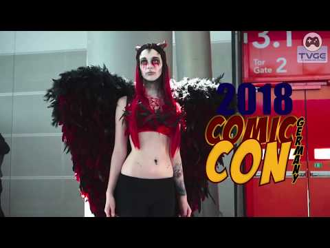 COSPLAY VIDEO SPECIAL CUT | COMIC CON GERMANY STUTTGART 2018