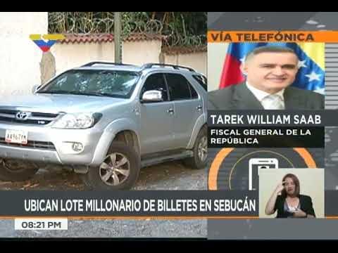Hallan Bs. 200 millones en camioneta presuntamente relacionada con Leopoldo López