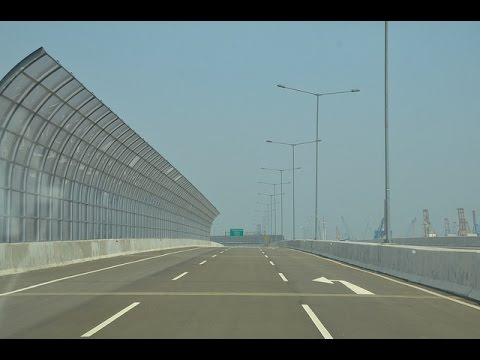 Jalan Tol Akses Tanjung Priok - Tanjung Priok Access Toll Road Drive