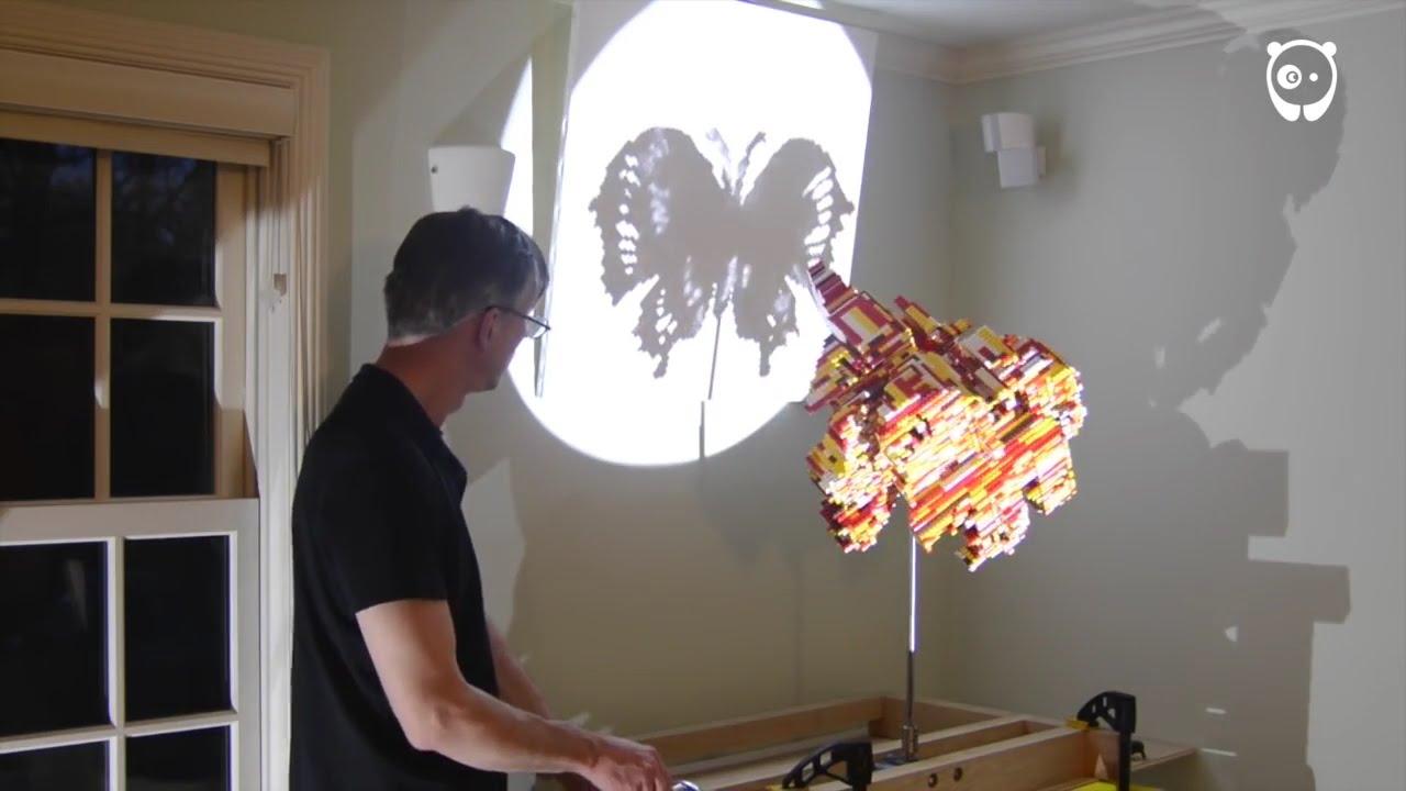 Image result for magic angle sculptures by John v. muntean)  Lego sculpture