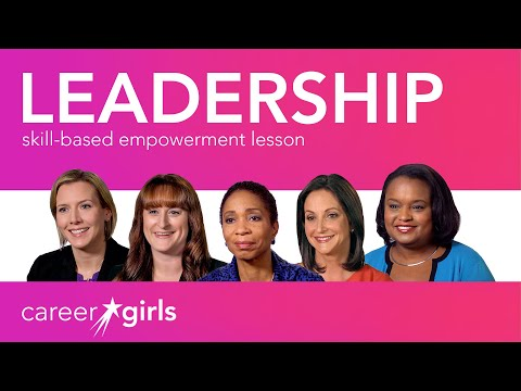 Be A Leader: Career Girls Empowerment Lesson
