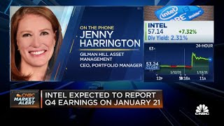 Gilman Hill's Jenny Harrington on Intel and its CEO shakeup