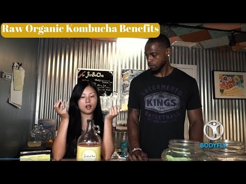 Raw Organic Kombucha Benefits