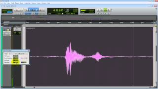 Pro Tools Tutorial: Pitch Shift Via Elastic Audio & Audio Suite