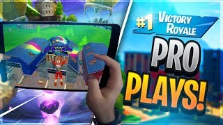 🔴 PRO FORTNITE MOBILE PLAYER // 735+ Wins // Fortnite Mobile Gameplay Tips & Tricks