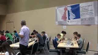 Youth european rapid championship in Teslic RS 2012