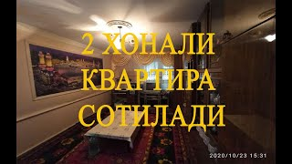 ЭЪЛОН № 1934 2 хонали квартира сотилади