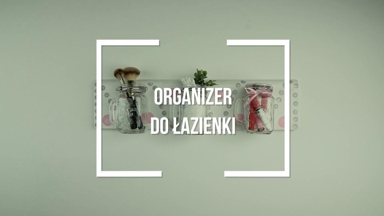 Oryginalny Organizer Do łazienki Zrób To Sam