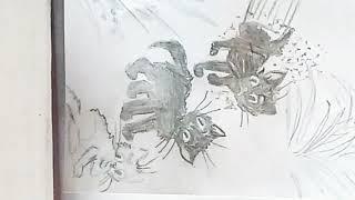 Рисунок трёх котят (ПОЭТАПНО)