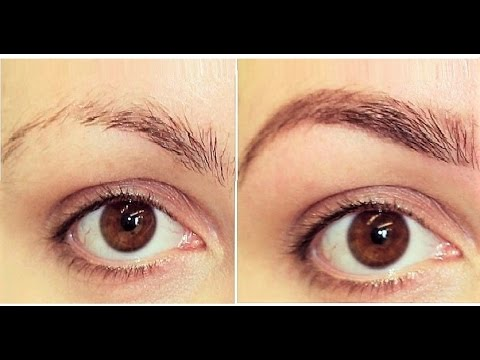 Hindi #2 - How to Grow Your Eyebrows Thicker _ | Home Remedies ...