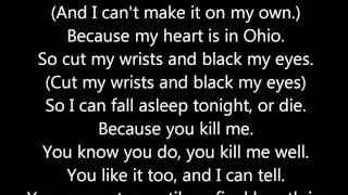 ohio is for lovers by hawthorne heights (lyrics)