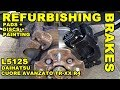 How To Replace Front Brake Discs & Pads - Daihatsu Cuore Avanzato TR-XX R4 Project Episode 10