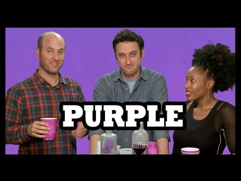 Why Would You Drink... Grape or Purple Vodka?! - Food Feeder