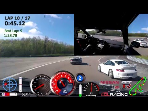 Nissan GT-R Vs Rest of world & Porsche 911 Cup
