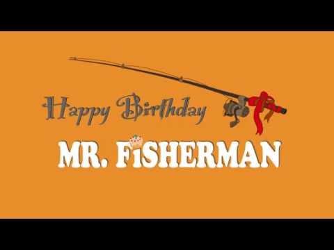 Title design for Happy Birthday Mr. Fisherman