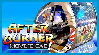 After Burner Arcade Machine Deluxe Moving Cabinet | One of the Best Arcade Machines Ever #EGX2017