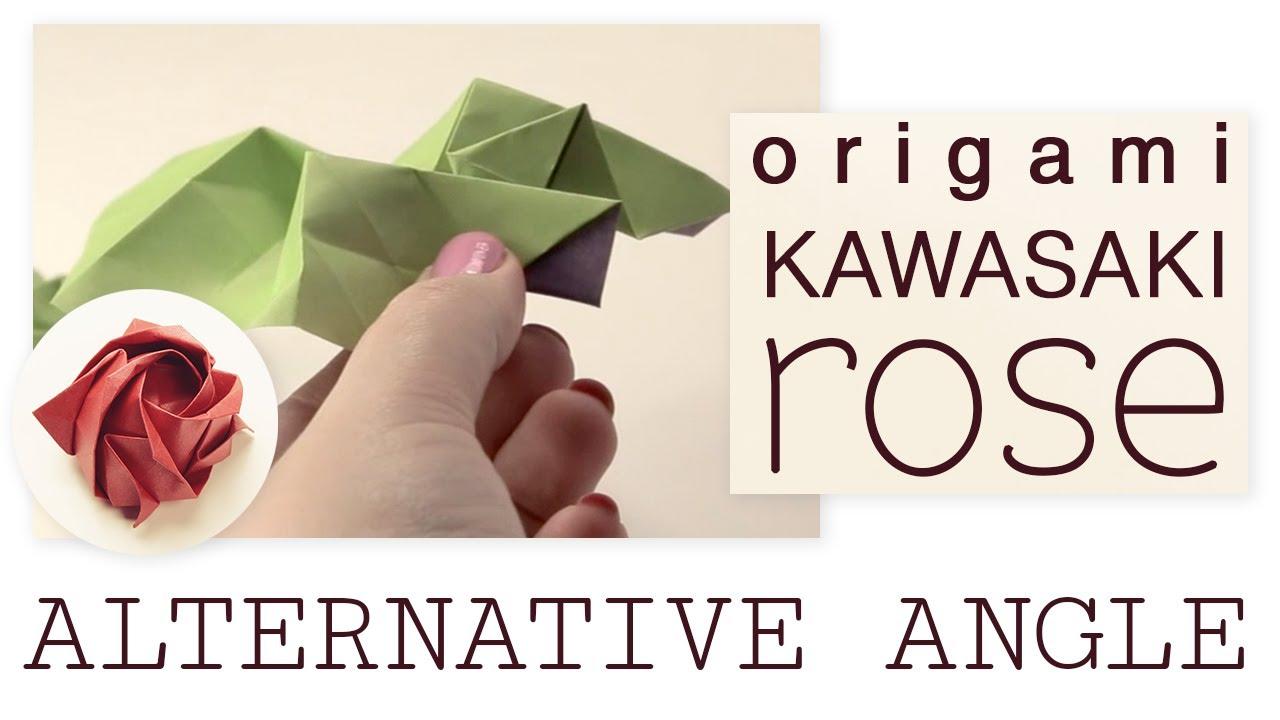 Origami-Instructions.com: Kawasaki Rose, version 2 | 720x1280