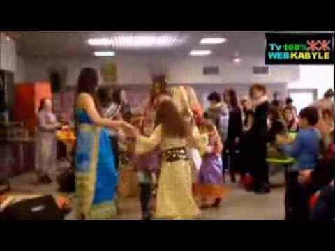 D fil de robes kabyle par des enfants adultes youtube - Robe de maison simple ...