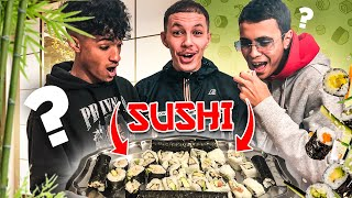ON CRÉE NOS SUSHIS AVEC LE MAITRE SUSHI DE MARSEILLE 🍣 ( ft. @BLACK CROOK , @JL Nono )