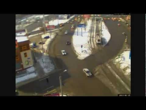 METEORITE fall in Russia to Chelyabinsk! 15.02.2013
