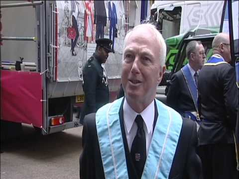 Metropolitan Grand Lodge & Grand Chapter entry for the Lord Mayors Show 2012