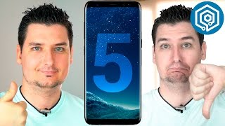5 cosas que me han gustado y 5 que no del Galaxy S8