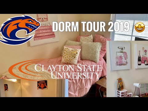 DORM ROOM TOUR ???? | CLAYTON STATE UNIVERSITY ????????