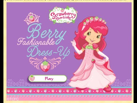 Strawberry Shortcake Dress Up Games Online Free Strawberry